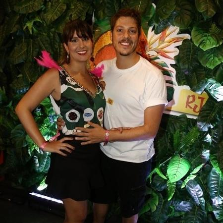 Fábio Porchat e Nataly Mega - Gabriel Reis / Ag. News