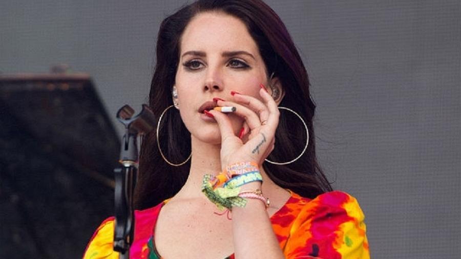 A cantora americana Lana Del Rey - Getty Images
