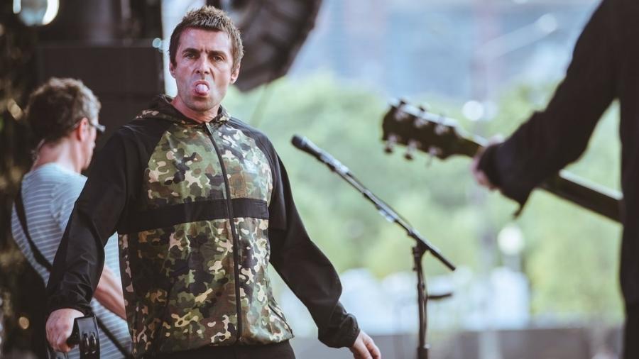 O cantor Liam Gallagher - Divulgação/Lollapalooza