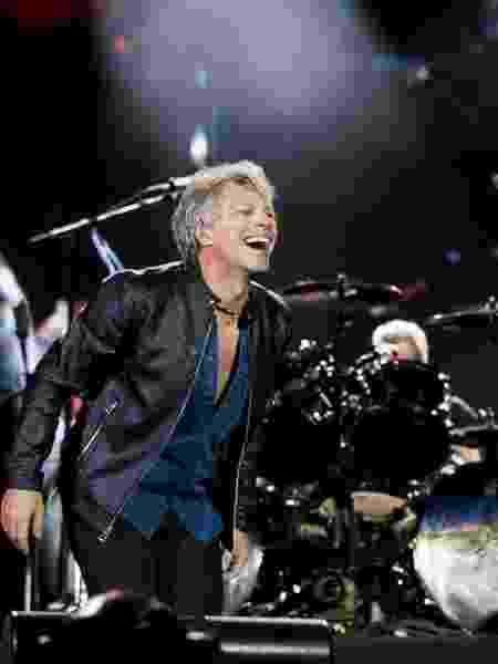 O músico Jon Bon Jovi, líder do grupo Bon Jovi - Mariana Pekin/UOL