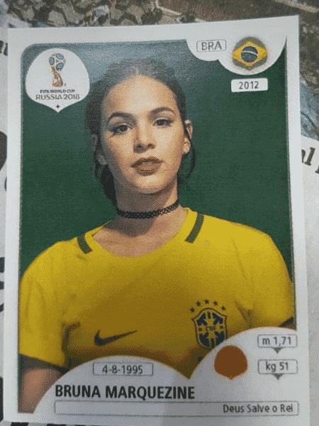 Bruna Marquezine também já foi escalada para a seleção ? pelos fãs - Reprodução/Twitter