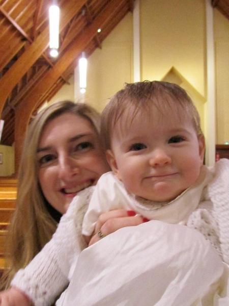 Gemma Fraser e a filha Orla - Reprodução/Instagram/write_on_mum