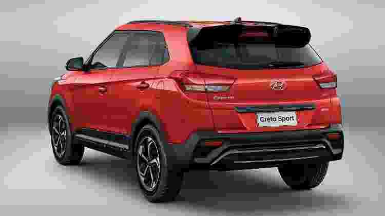 Hyundai Creta Sport 2019 - Divulgação - Divulgação