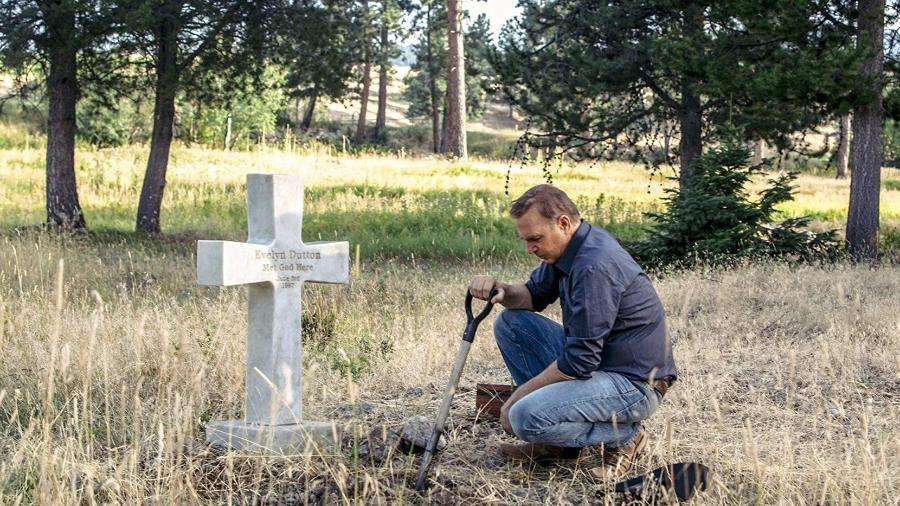 """Kevin Costner em cena de """"Yellowstone"""" - Divulgação"""
