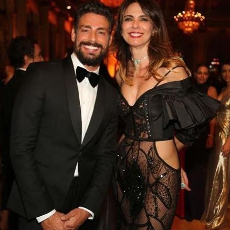 Cauã Reymond e Luciana Gimenez no baile de gala da Brazil Foundation - Reprodução Instagram Luciana Gimenez