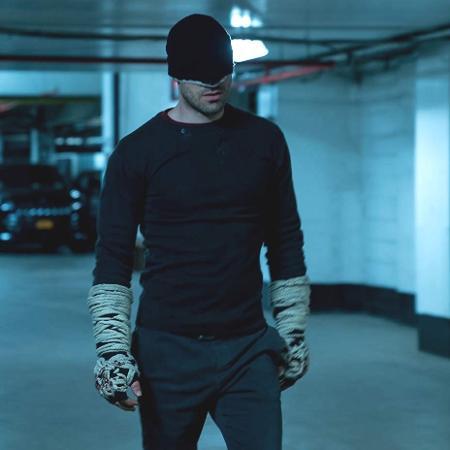 """Charlie Cox como Matt Murdock/Demolidor na terceira temporada de """"Demolidor"""" - Divulgação"""