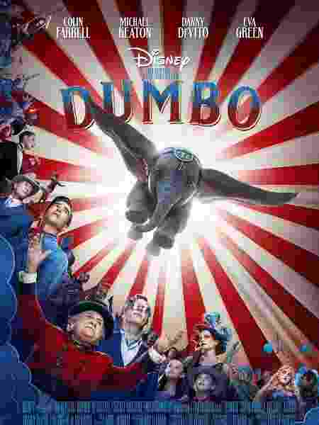 "Pôster de ""Dumbo"", de Tim Burton - Reprodução/Twitter"