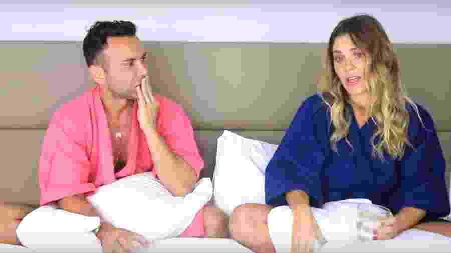 Carolina Dieckmann conversa com Matheus Mazzafera - Reprodução/Youtube