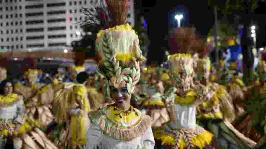Desfile da Unidos da Tijuca no Carnaval 2019 - Ricardo Borges/UOL