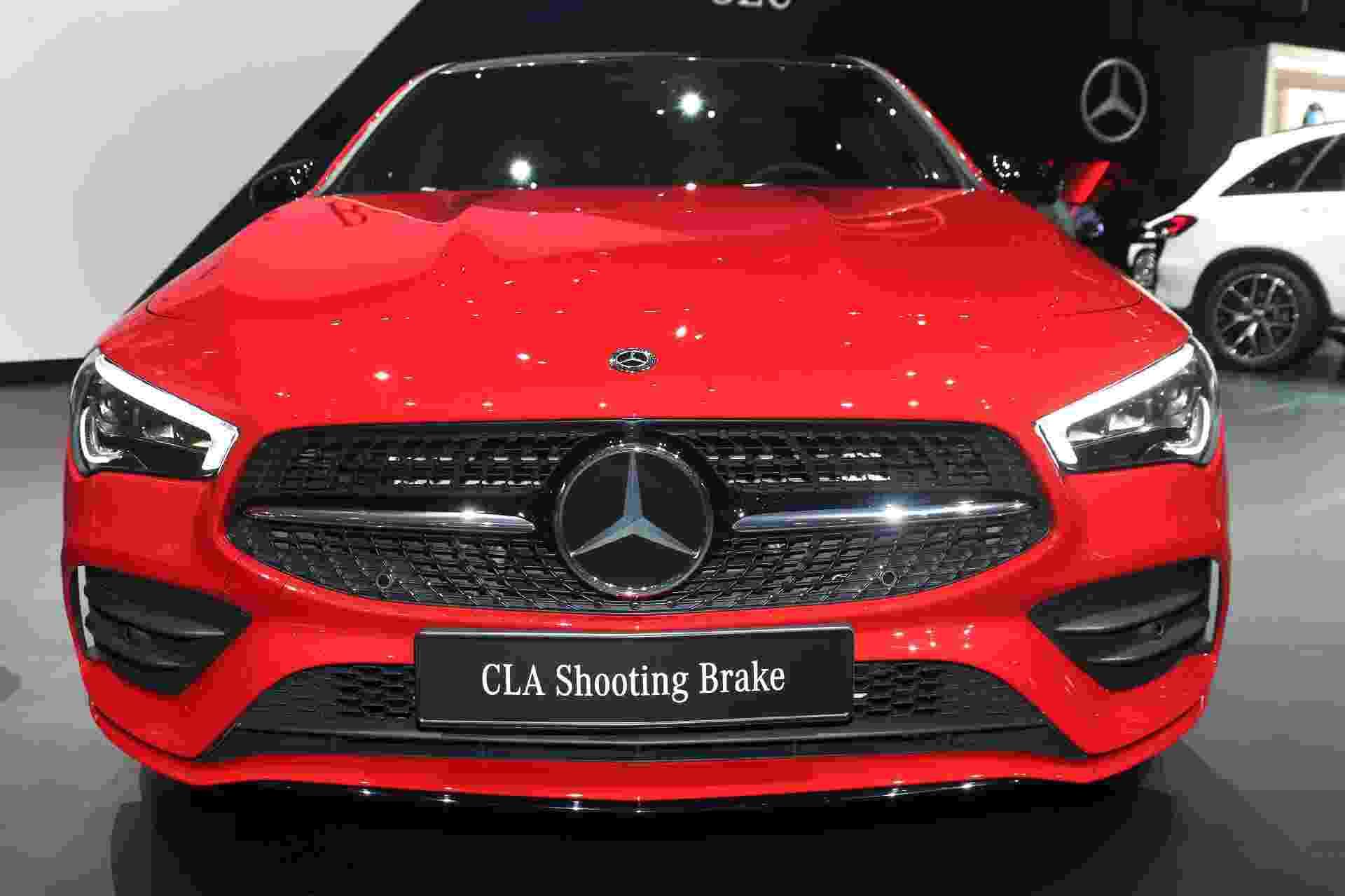 Mercedes-Benz CLA Shooting Brake 2020 - Newspress