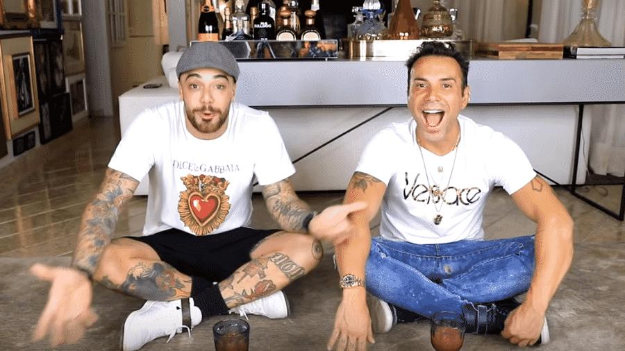 Felipe Titto e Matheus Mazzafera - Reprodução/YouTube