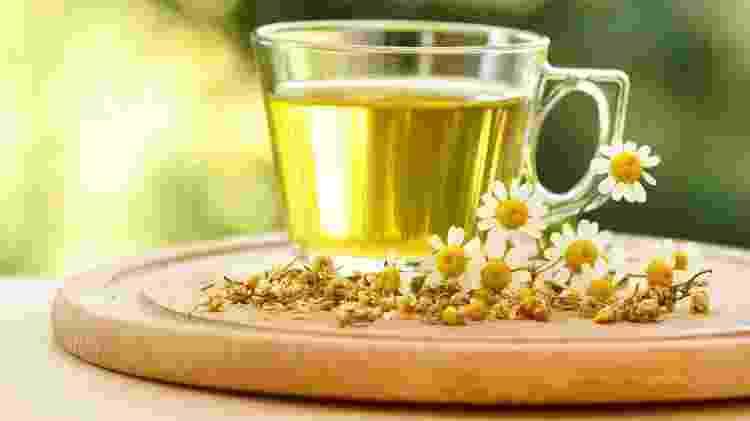 Chá de camomila  - Istock  - Istock