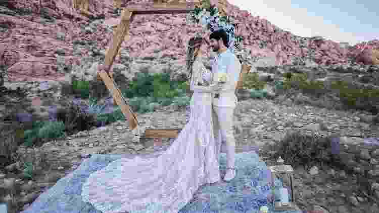 Lucas Fernandes e Ana Lúcia se casaram em Las Vegas - Reprodução/Instagram - Reprodução/Instagram