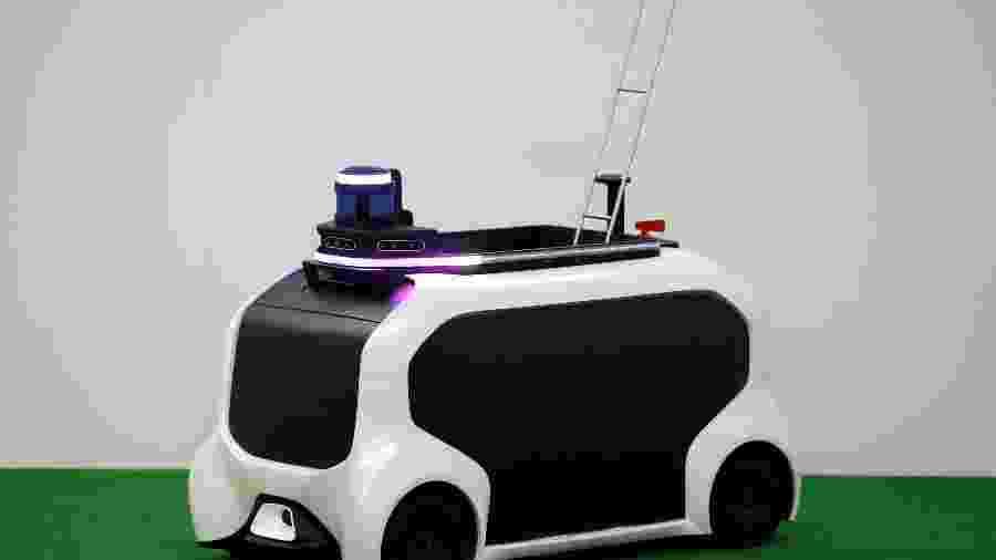 Toyota faz demonstração com veículo que será utilizado nas Olimpíadas de Tóquio-2020 - Issei Kato/Reuters