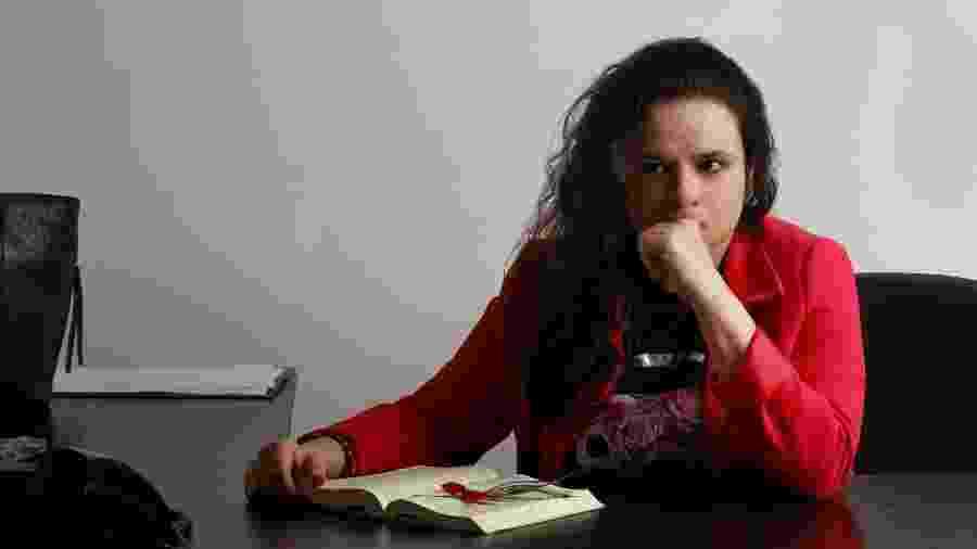 A deputada estadual Janaina Paschoal (PSL/SP) assina com mais duas parlamentares proposta que reserva às mulheres cuidados íntimos com crianças nas creches - Julia Rodrigues/UOL