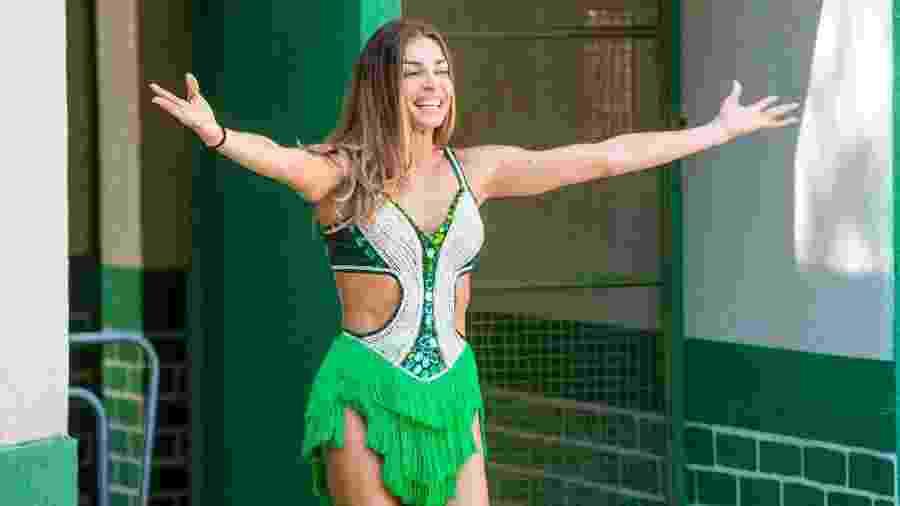 Paloma (Grazi Massafera) na escola de samba Unidos do Bom Sucesso - João Cotta/TV Globo