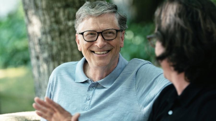 Bill Gates vem financiando por meio de sua fundação a pesquisa da vacina - Reprodução/Netflix