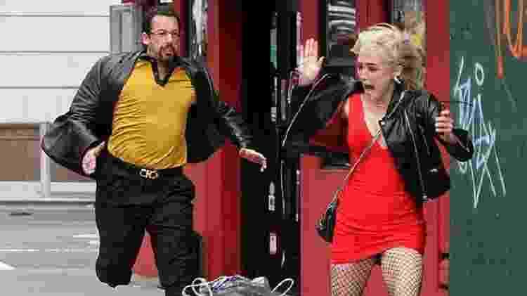 Adam Sandler em cena de Uncut Gems - Jose Perez/Splash News - Jose Perez/Splash News