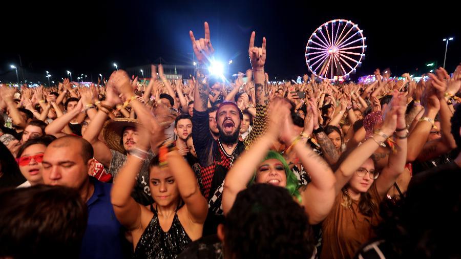 Público durante show no Rock in Rio - Wilton Júnior/Estadão Conteúdo