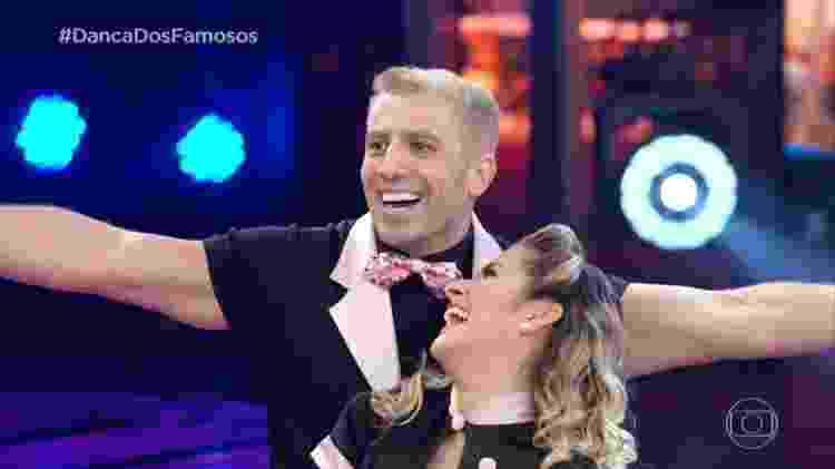 Kaysar Dadour e Mayara Araújo dançam rock na Dança dos Famosos - Reprodução/TV Globo - Reprodução/TV Globo