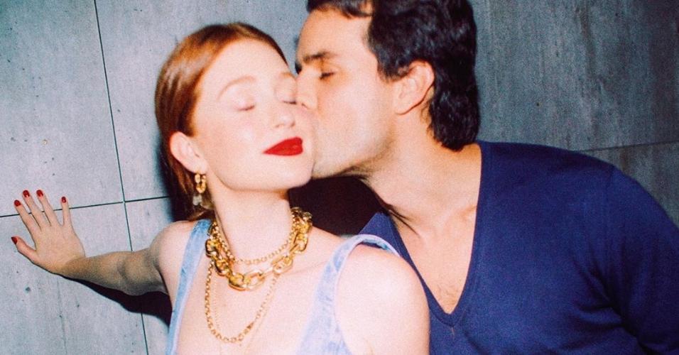 Marina Ruy Barbosa e o marido, Alexandre Sarnes Negrão