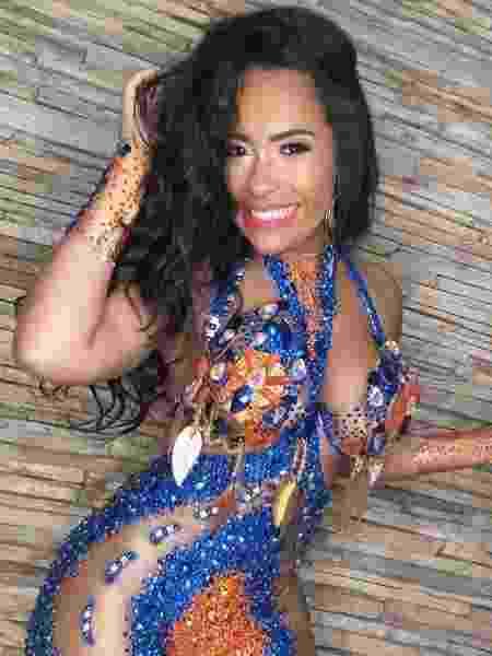 Raíssa de Oliveira, rainha de bateria da Beija-Flor de Nilópolis - Reprodução/Instagram - Reprodução/Instagram