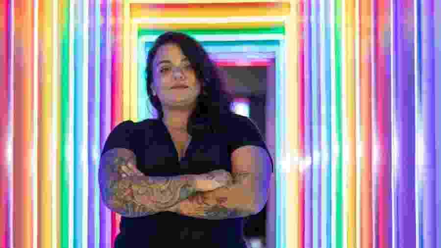 A empresária carioca Lela Gomes, que fechou temporáriamente seu bar 4 dias após inauguração - Arquivo Pessoal