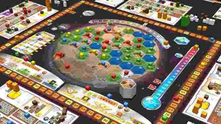 Terraforming Mars 2 - Divulgação/MercadoLivre - Divulgação/MercadoLivre