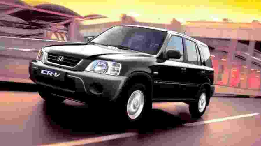Honda CR-V 1997 - Divulgação