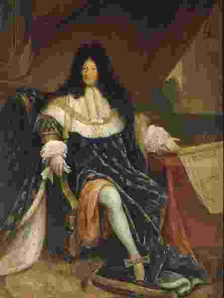 Luis XIV da França era conhecido pelo luxo da moda e beleza - Reprodução - Reprodução