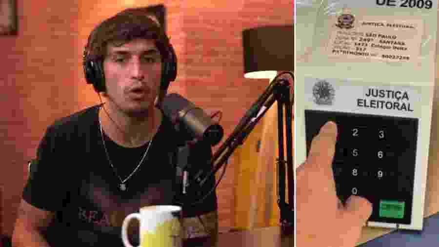 """Felipe Prior explica gravação de urna eletrônica: """"Não sabia que não podia"""" - Reprodução/Instagram"""