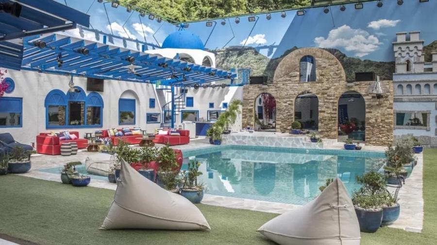 BBB 2021: Área externa da casa do reality da Globo - Reprodução/Instagram