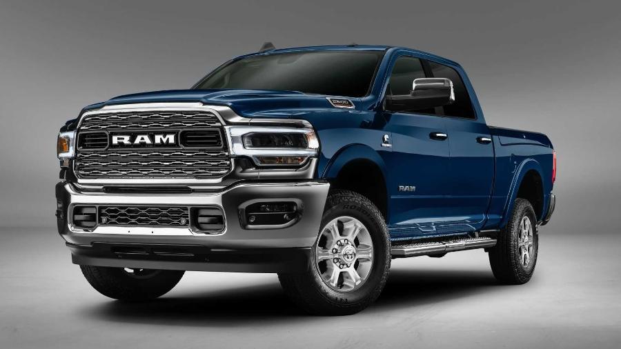 RAM 2500 foi o segundo modelo de luxo mais vendido em julho - Divulgação