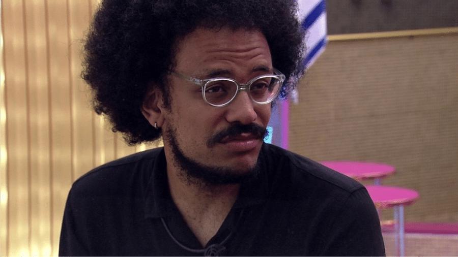 BBB 21: João Luiz diz ficar irritado com a reação de brothers após o jogo da discórdia - Reprodução/Globoplay