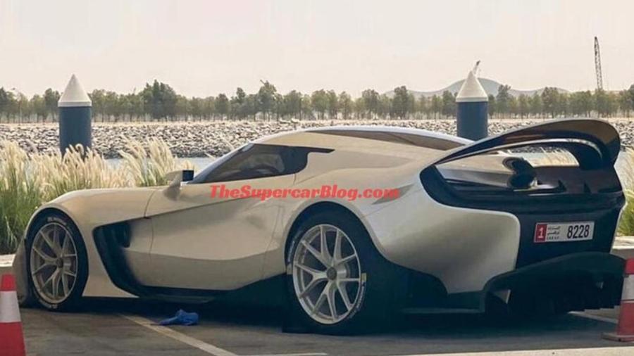 Novo modelo da Ferrari vaza - Reprodução