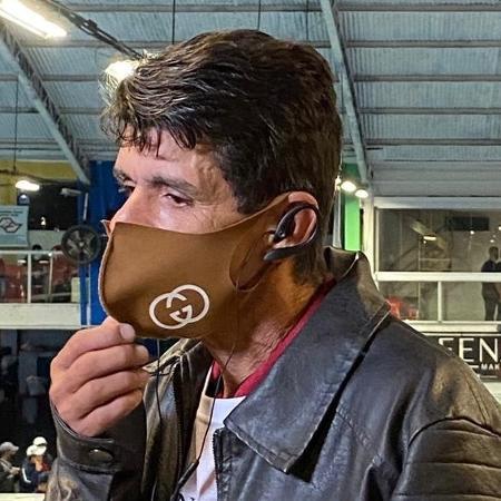 Pai de MC Kevin esteve no velório para se despedir do filho - Guilherme Lucio da Rocha/UOL