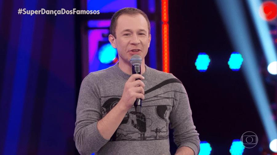 Tiago Leifert no comando do Super Dança dos Famosos - Reprodução/Globoplay