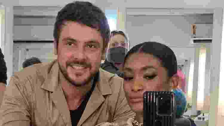 novela Globoplay - reprodução/instagram - reprodução/instagram