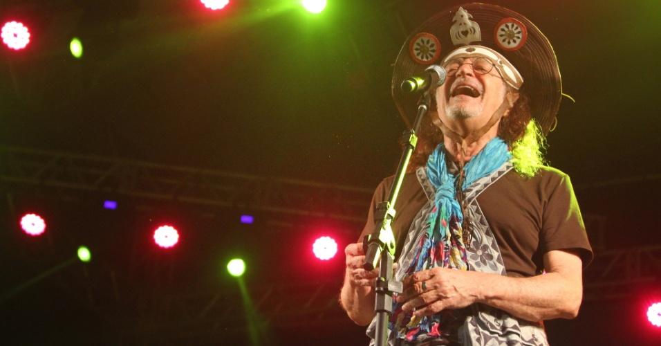 Show de Alceu Valença na noite de quinta-feira, 4, abriu o Carnaval de Olinda (PE) no Pólo do Fortim