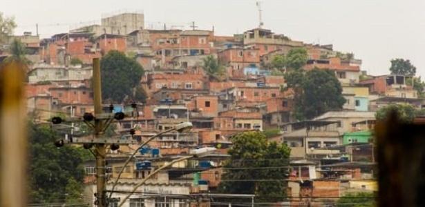 """Imagem da expo """"Favela Tem Memória"""", na Estação Pavuna do Metrô do Rio - Divulgação/ONG Viva Rio"""