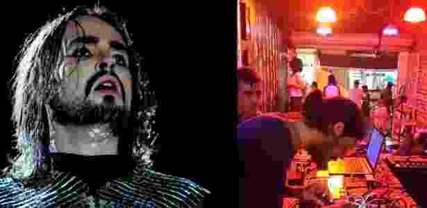 Johnny Hooker nasceu em Recife e é fã do Texas Bar (foto) - Divulgação e Reprodução Facebook