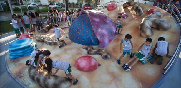 Crianças brincando no Museu da Vida na Fiocruz - Fernando Maia/UOL