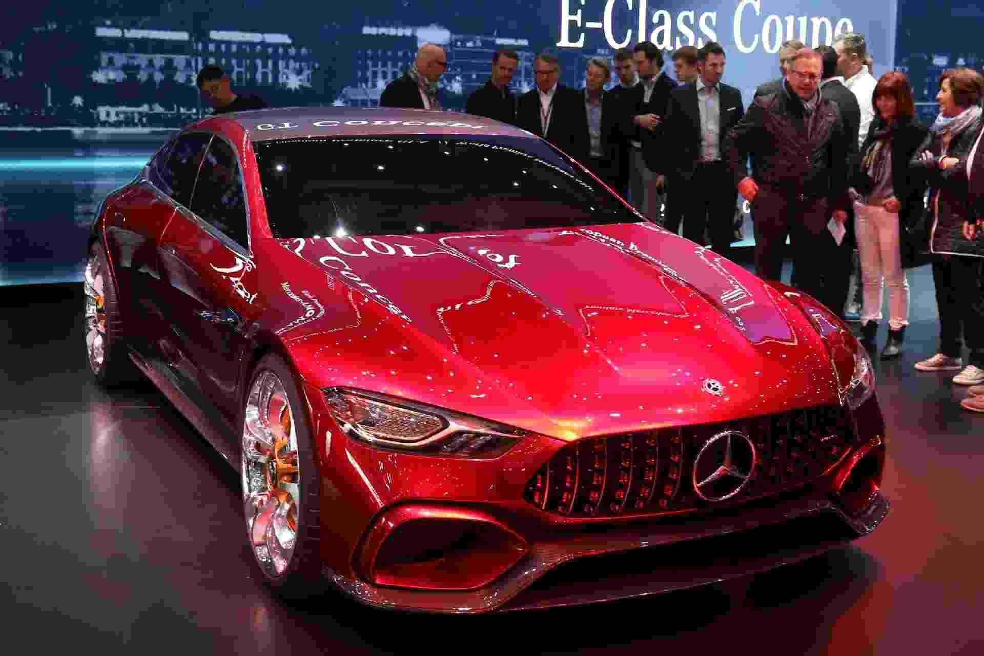 Mercedes-AMG GT Sedan Concept - Newspress