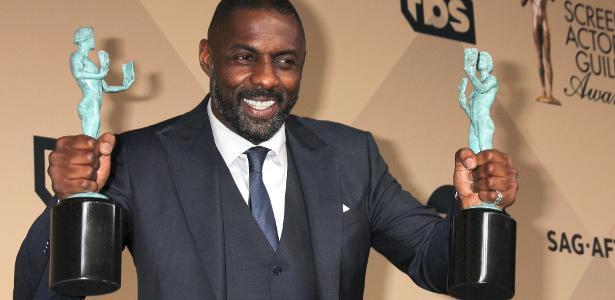 O ator britânico Idris Elba