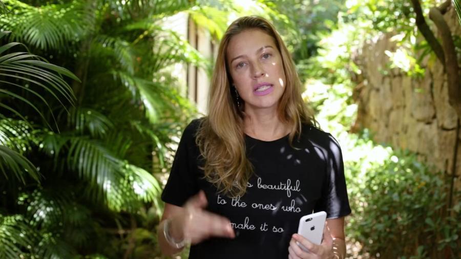 Luana Piovani abre o jogo e fala sobre intimidade no seu canal na internet - Reprodução/youtube