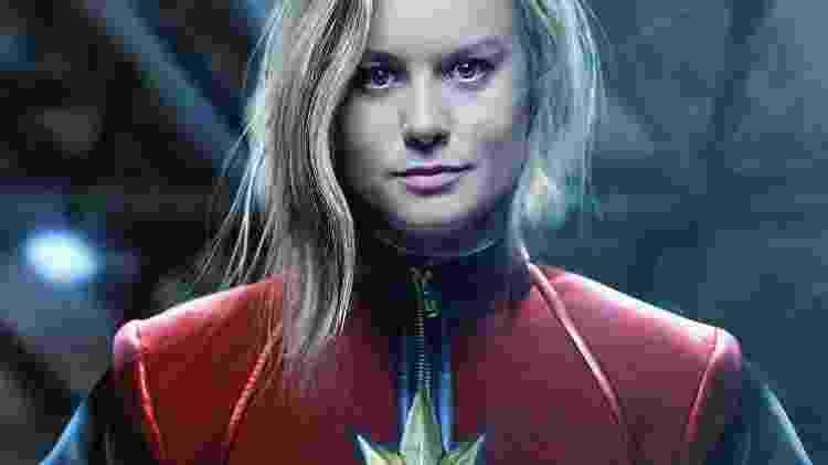 Brie Larson como a Capitã Marvel - Reprodução - Reprodução