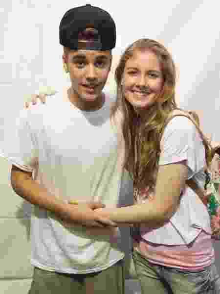 Meet and greet de Justin Bieber no Rio de Janeiro - Divulgaēćo