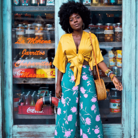 Cynthia Andrew, advogada e blogueira de lifestyle escolhida pela marca Sally Hansen por seu trabalho inspirador - Reprodução/Instagram