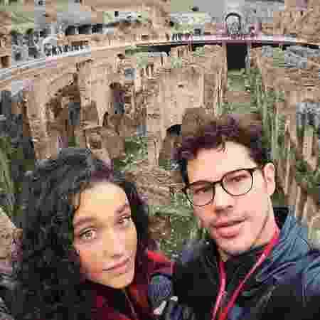 """Débora Nascimento e José Loreto em """"babymoon"""" pela Itália - Reprodução/Instagram"""