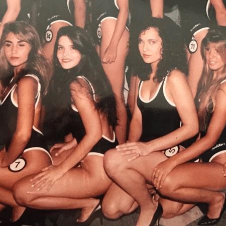 Samara Felippo durante concurso de beleza - Reprodução/Instagram/sfelippo